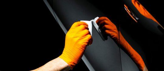 protection en céramique pour la carosserie